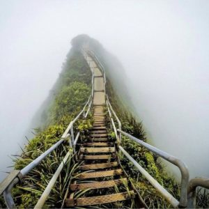 'Stairway to Heaven', Oahu, Hawaii