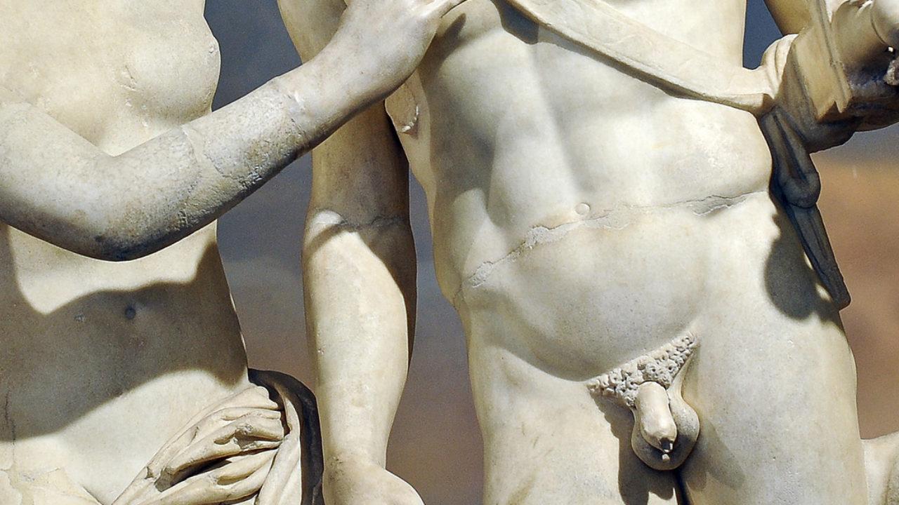 scultura con pene)