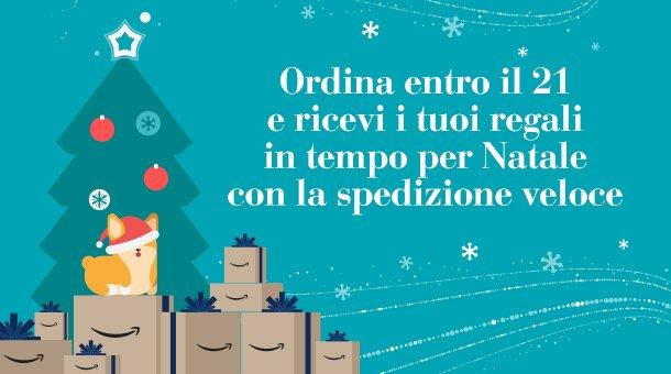 Regali Entro Natale.Amazon Ordina Entro Il 21 Dicembre E Ricevi I Tuoi Regali