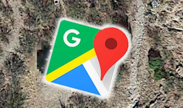 google-map-ufo
