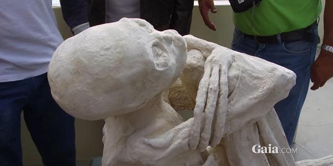 """Scienziati russi analizzano la mummia """"extraterrestre"""" del Perù"""
