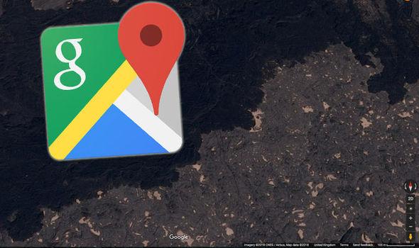 """Google Maps: rivelato """"l'Inferno sulla Terra"""", un ambiente ostile di lava e geyser tossici"""