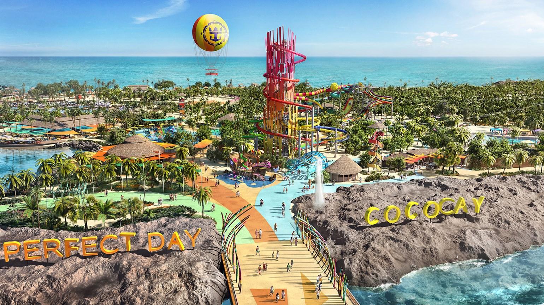 RCCL svela i dettagli di CocoCay, l'isola delle Bahamas trasformata in parchi divertimento