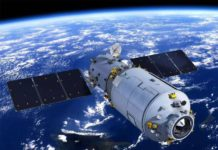 La stazione spaziale Tiangong-1 potrebbe cadere sulla Terra durante la Pasqua