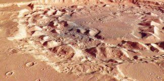 Marte, catturate immagini di crateri di origine sconosciuta