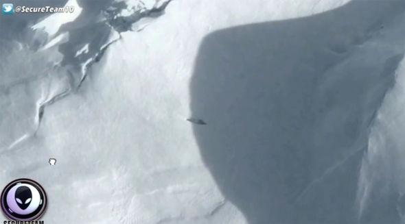 Avvistamento UFO di Google Maps: la forma misteriosa è prova della vita aliena