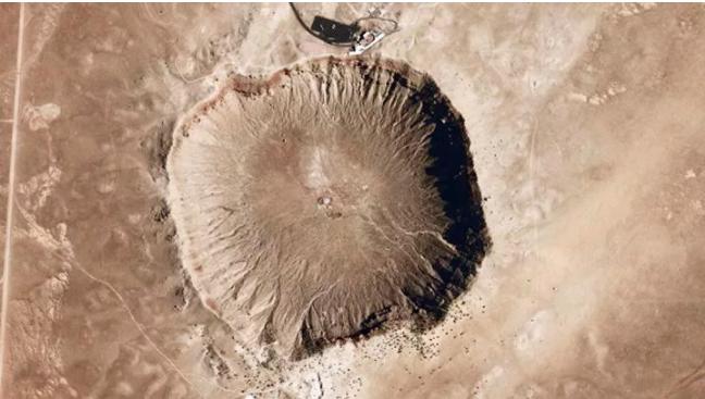 Google Maps: il cratere creato da presunti extraterrestri fu prodotto da un meteorite
