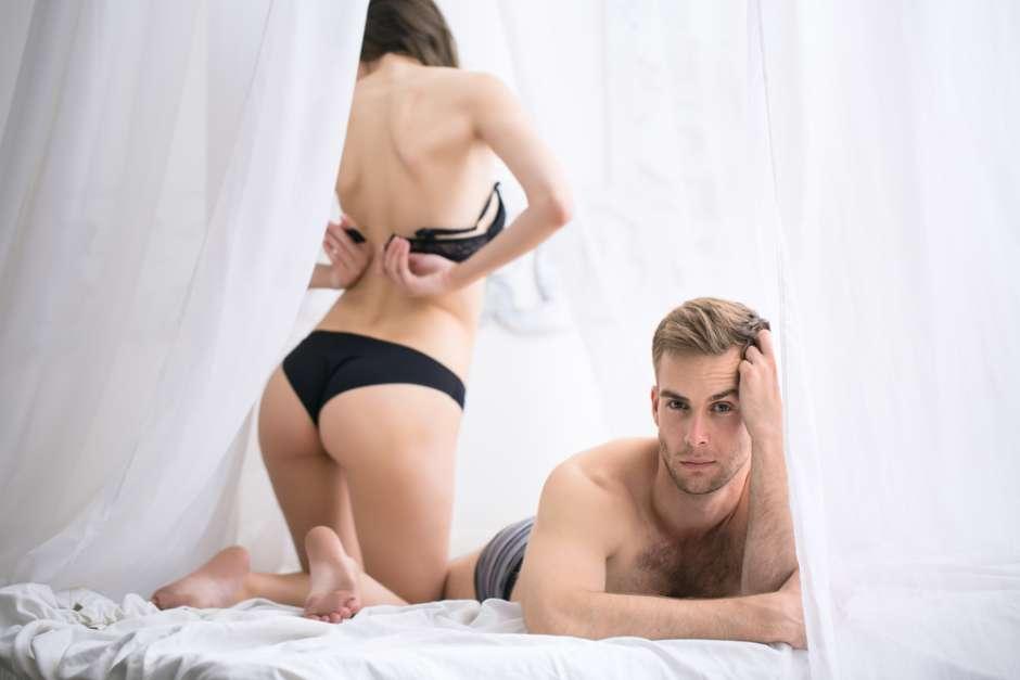 La mancanza di sesso genera seri problemi nella coppia