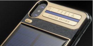 """iPhone X """"Tesla"""": edizione speciale con celle solari"""