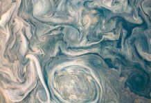 Giove: la NASA pubblica un'incredibile foto di Giove che somiglia ad un dipinto di Van Gogh