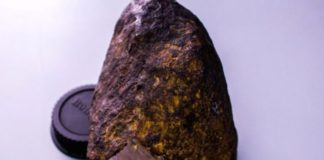 meteorite-materiale