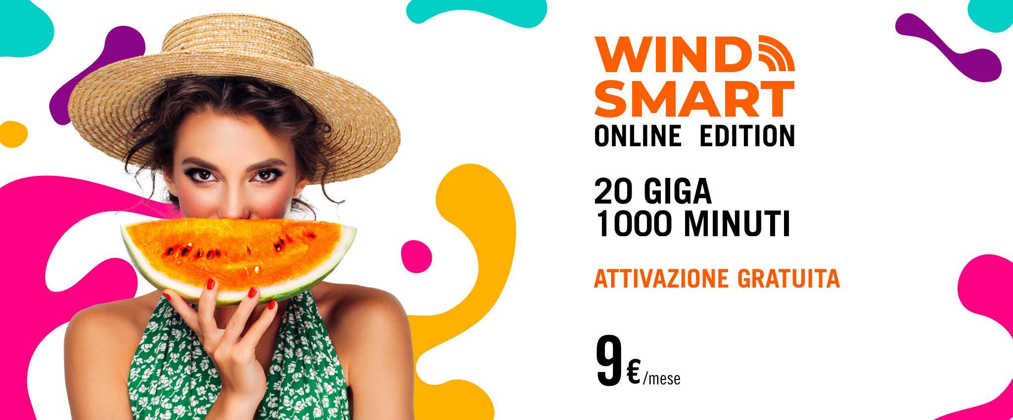 Wind smart online edition tanti minuti e tanti gb per 9 - Porta i tuoi amici in wind quanto dura ...