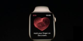 apple watch serie 4 cuore