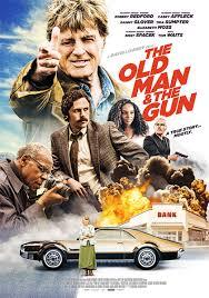 old man and the gun locandina
