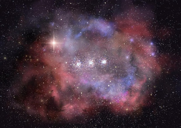 galassia Macs0416_Y1