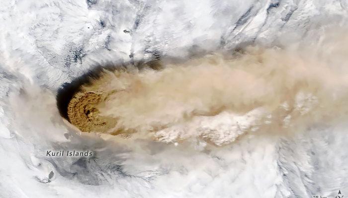 vulcano Raikoke