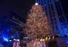 Rockefeller center albero