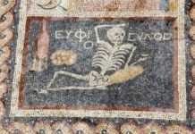 scheletro spericolato