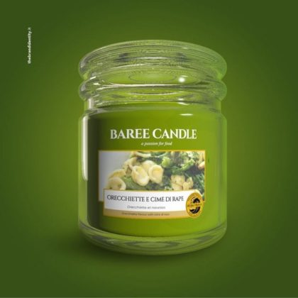 orecchiette candle