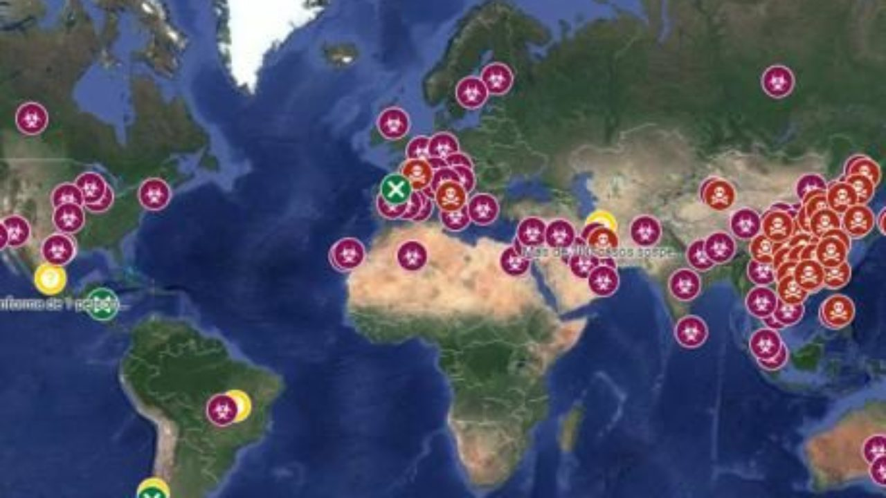 Cartina Italia Google Maps.Google Maps Mette A Disposizione La Mappa Interattiva Dei Casi Di Coronavirus Nel Mondo