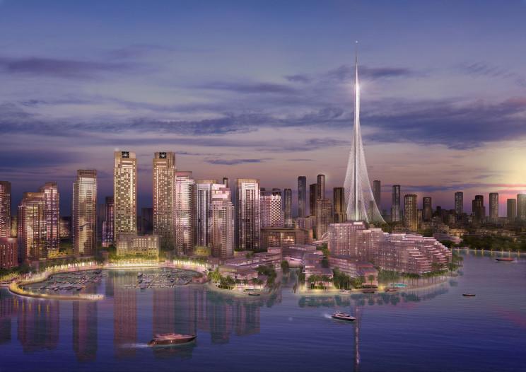Addio Burj Khalifa: la Dubai Creek Tower diventerà l'edificio più alto del mondo