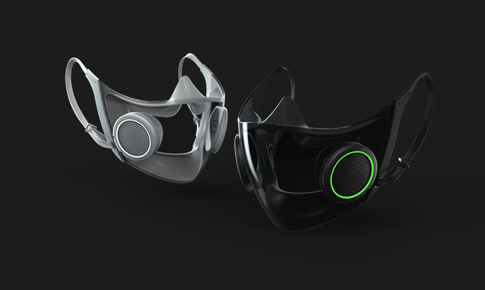 Covid-19: la mascherina smart di Razer verrà messa in commercio